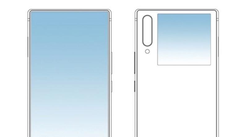 ZTE'den Ön Kamerayı Tarihe Gömecek Çift Ekranlı Telefon Patenti