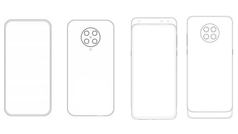 Xiaomi'nin Dört Kameralı Telefon Patenti Ortaya Çıktı
