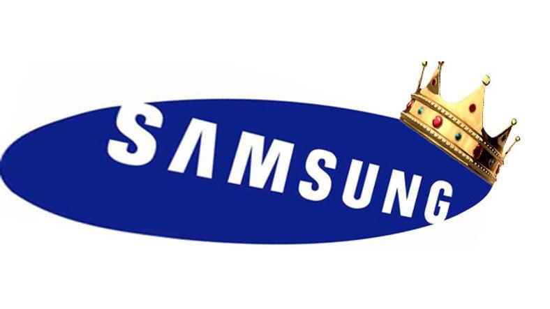 Samsung, Avrupa'daki Telefon Satışlarında Apple'ı Altıya Katladı