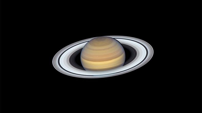 Satürn'ün Geçirdiği Değişimi Gösteren NASA Fotoğrafı