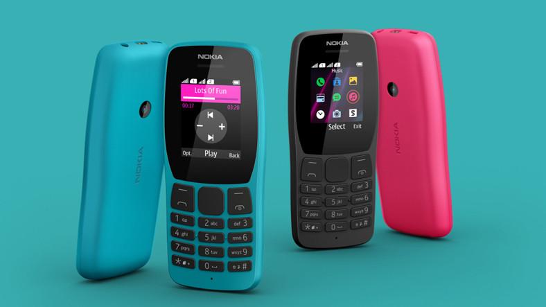 HMD Global, Yeni Tuşlu Telefonu Nokia 110'u Satışa Sundu
