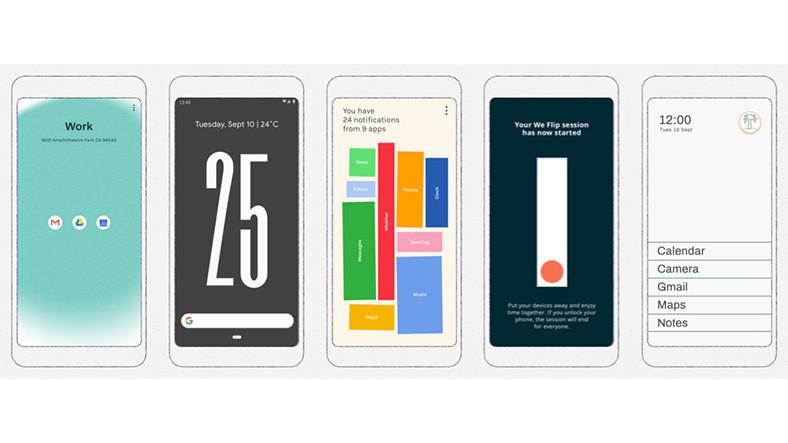 Google, 5 Adet Yeni Dijital Denge Uygulaması Yayınladı