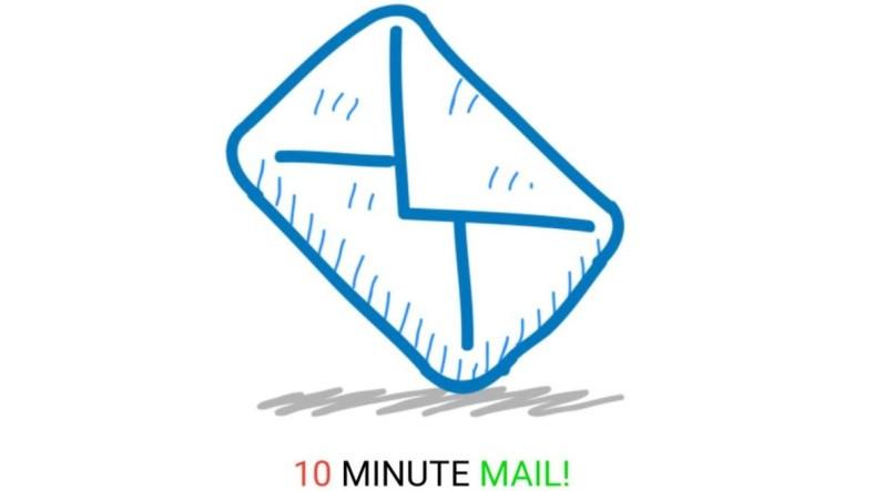 10 Dakika Sonra Silinen E-Posta Veren Site: 10 Minute Mail