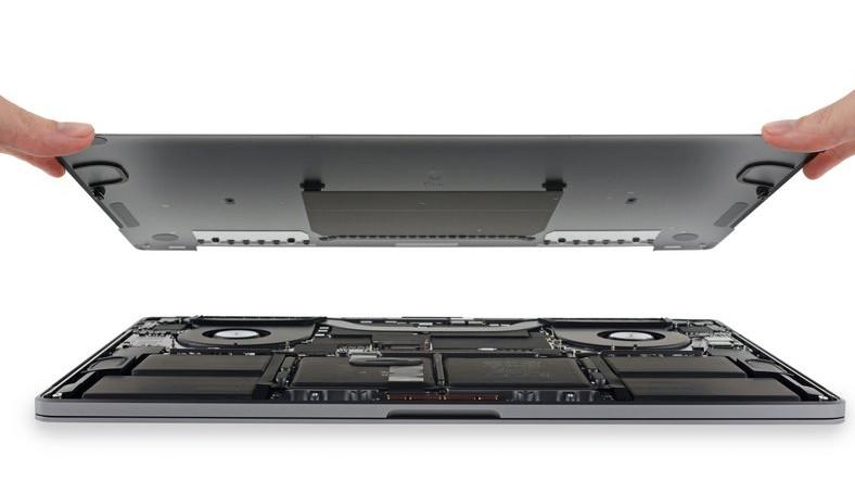 16 İnç MacBook Pro, Parçalarına Ayrıldı