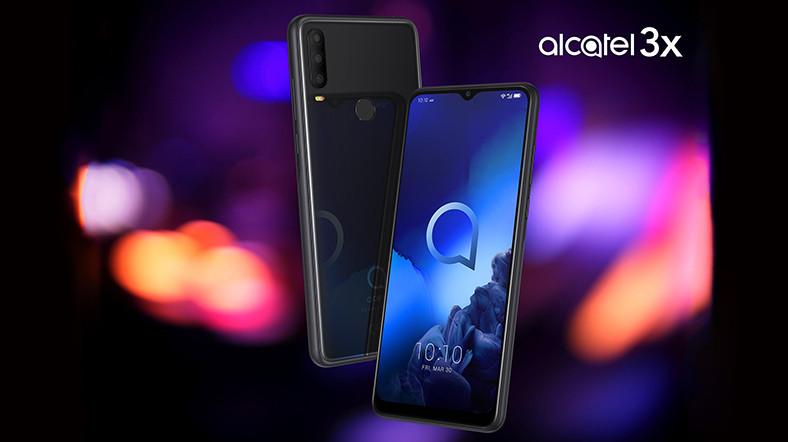 Bütçe Dostu Alcatel 3X, Türkiye'de Satışa Çıktı