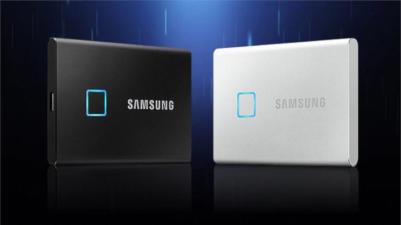 Samsung, Parmak İzi Okuyuculu Taşınabilir SSD'sini Tanıttı