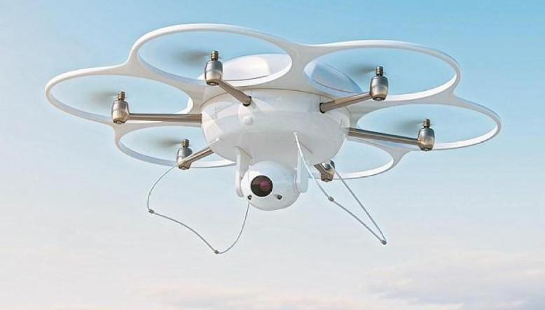 Drone ile Sokakta Yürüyen İnsanların Ateşleri Ölçülecek