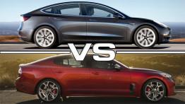 Tesla Model S ve Kia Stinger GT S, Drag Yarışında Karşı Karşıya