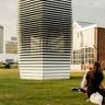 1 Saatte 30 Bin Metreküp Havayı Temizleyen Vakum Kulesi