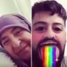 Snapchat'teki Gökkuşağı Efektine Teyzeden Süper Tepki
