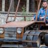 Konyalı Özgür Balcı, Tank Görünümünde Paletli Bir Arazi Aracı Yaptı!