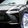 Tamamen Buzdan Yapılma Tekerleklere Sahip Lexus NX