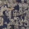 Suriye'nin Kıyamet Alanına Dönmüş Olan Şehri, Drone ile Görüntülendi!
