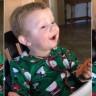 İlk Defa Pastırma Yiyen Bebeğin Güldüren Mutluluğu