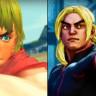 Street Fighter IV ve V Aynı Anda Oynanırsa Ortaya Nasıl Bir Görüntü Çıkar?!