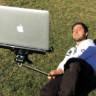 Sonunda İhtiyacımız Olan Şey Üretildi! Macbook İçin Selfie Çubuğu!