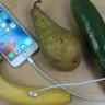 Farklı Farklı Meyveleri Kullanarak iPhone 6S'i Şarj Etmeye Çalışan Bir Garip YouTuber