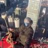 China's World Trade Centre'ın Tepesine Çıkan Gençler, İzlemeye Cesaret Edemediğimiz Görüntüler Kaydettiler!