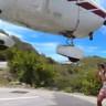 Kıl Payıyla Uçak Çarpmasından Kurtulan Turist