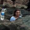 Birkaç 'Like' Uğruna Metrelerce Tırmanan Samsunlu Genç Kız, Selfie Çekerken Kayalara Sıkıştı!