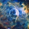 Hubble Teleskobu, Baloncuğa Benzeyen Nebulayı Görüntüledi!