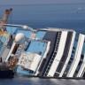 Terkedilmiş Costa Concordia Gemisinin Son Halinden Görseller