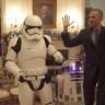 Beyaz Saray'da Çılgın Star Wars Partisi: Başkan Obama, Stormtrooper'lar ile Koptu!