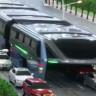 Çin, Trafik Sorununu Ortadan Kaldıracak Müthiş Bir Otobüs Geliştirdi