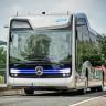 Mercedes'in Sürücüsüz Otobüsü Hollanda'da Şehir Turu Yaptı!