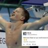 Anneanne Tweet'leri Olimpiyata Damga Vurdu: Yüzücü Toruna Sosyal Medyadan Destek!