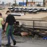 Şiddetli Tornado Yüzünden Starbucks Kafe Kağıt Gibi Çöktü!