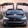 Başka Arabayla Yapsa Muhtemelen Ölümle Sonlanacak Kazadan Tesla Model X ile Sapasağlam Kurtuldu!