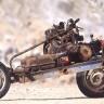 Bozulan Aracını Motosiklete Dönüştürerek Çölde Ölmekten Kurtulan Adam