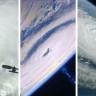 NASA Büyük Okyanus'taki 3 Ayrı Kasırganın Uzaydan Çekilen Videosunu Yayınladı!