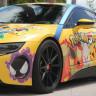 Tamamen Pokemon Konseptiyle Kaplanan BMW i8