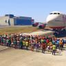 GTA 5'te 100 Kişi Bir Uçağı Durdurabilir Mi?