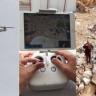 Nöbetteki Köy Korucularına Drone İle Tatlı İkramı