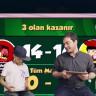 TRT 1'de Tamer Yeşildağ Hayranıyla Online Kafa Topu Oynadı!