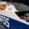 Birisi LEGO mu Dedi? Karşınızda Tam '1 Milyon Parça LEGO' ile Yapılan Dev Gemi!