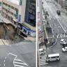 Japonların Çöken Otoyolu Kısa Bir Sürede Nasıl Bitirdiklerini Gösteren Video!