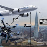 Bir Drone Londra'da Neredeyse Uçak Düşürüyordu!