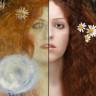Ünlü Ressamların Resimlerini Gerçeğe Uyarlayan Kadın Sanatçı