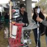 Şırnak'ta Yaşayan Genç Hurda Parçalardan Robot Yaptı