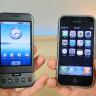 İlk iPhone ile İlk Android Telefon Karşı Karşıya Geldi