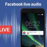 Facebook'ta Radyonuzu Kurun: Facebook'a Sesli Canlı Yayın Özelliği Geliyor
