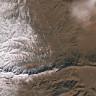 37 Yıl Sonra Kar Yağan Sahra Çölü'nün Uzaydan Çekilmiş Etkileyici Görüntüleri