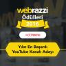 """Webtekno Yeniden Webrazzi Ödülleri'nde """"Yılın En Başarılı YouTube Kanalı""""na Aday Gösterildi!"""