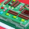Teknoloji ve Bilgisayar Meraklıları İçin Anakart Görünümlü Pasta!