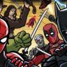 Popüler Süper Kahramanların Dövüş Arenasında Buluştuğu Şahane Video