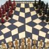 Beyin Yakan '3 Kişilik' Satranç Oyunu!